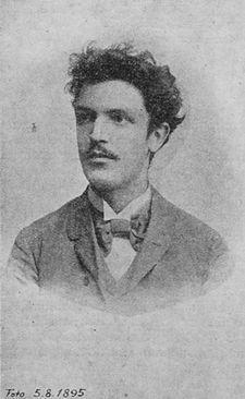 Hlaváček, Karel portréja