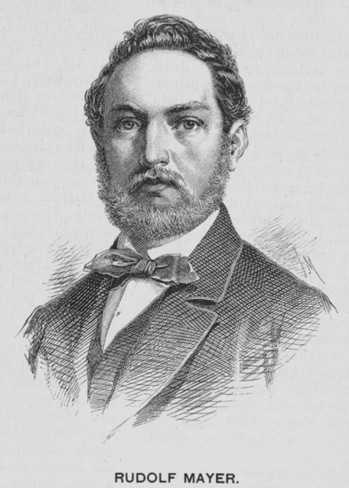 Mayer, Rudolf portréja