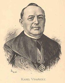 Karel Alois Vinařický portréja