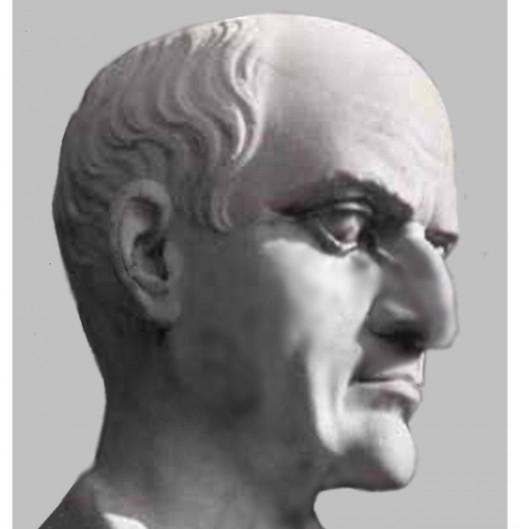 Propertius, Sextus portréja