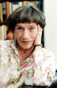 Janikovszky Éva portréja