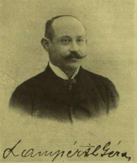 Lampérth Géza portréja