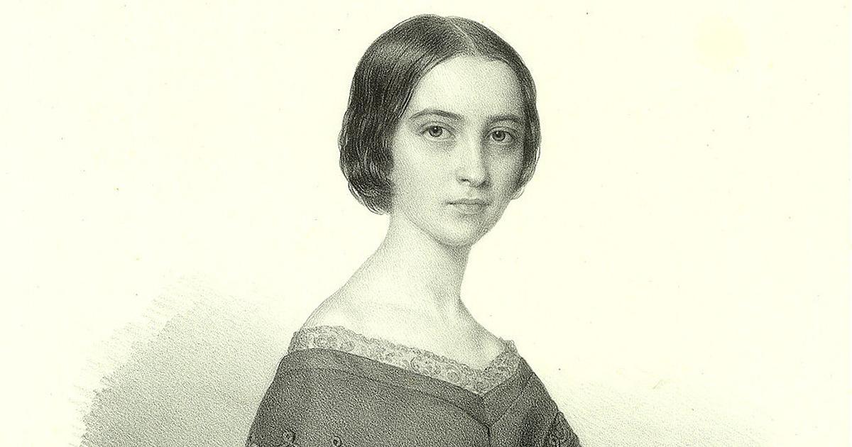 Szendrey Júlia portréja