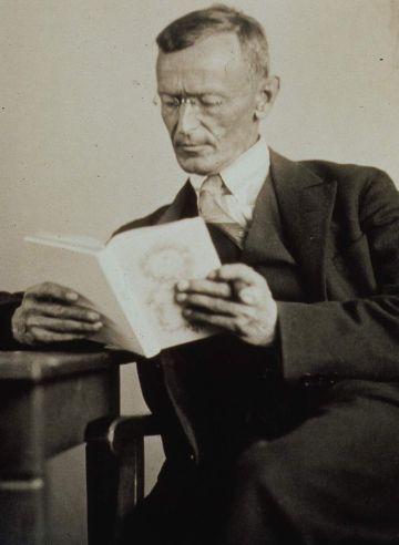 Hesse, Hermann portréja