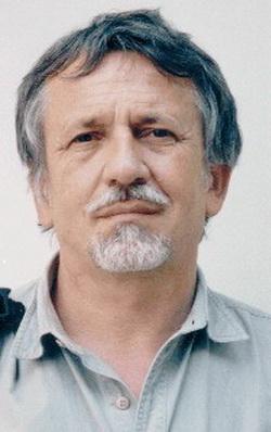 Oravecz Imre portréja