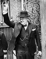 Churchill, Winston portréja