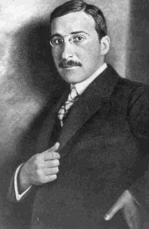 Zweig , Stefan portréja