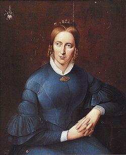 Droste-Hülshoff, Anette von portréja
