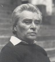 Rákos Sándor portréja