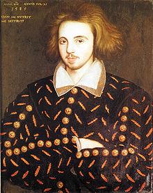 Marlowe, Christopher portréja