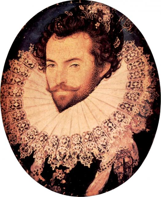 Raleigh, Sir Walter portréja