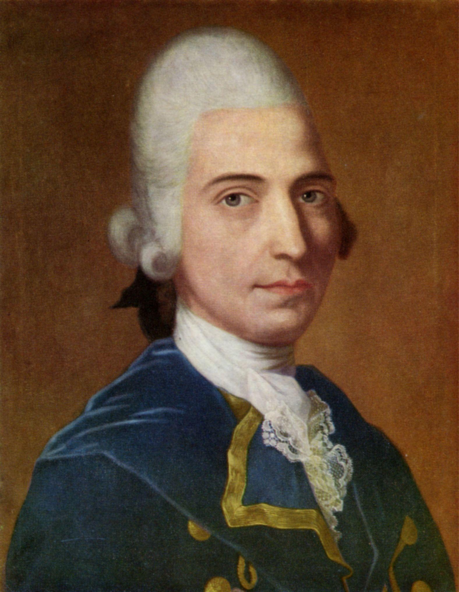 Bürger, Gottfried August portréja