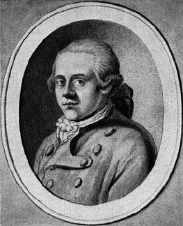Lenz, Jakob Michael Reinhold portréja