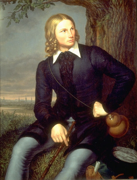 Hoffmann von Fallersleben portréja