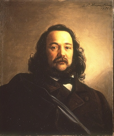 Freiligrath, Ferdinand portréja