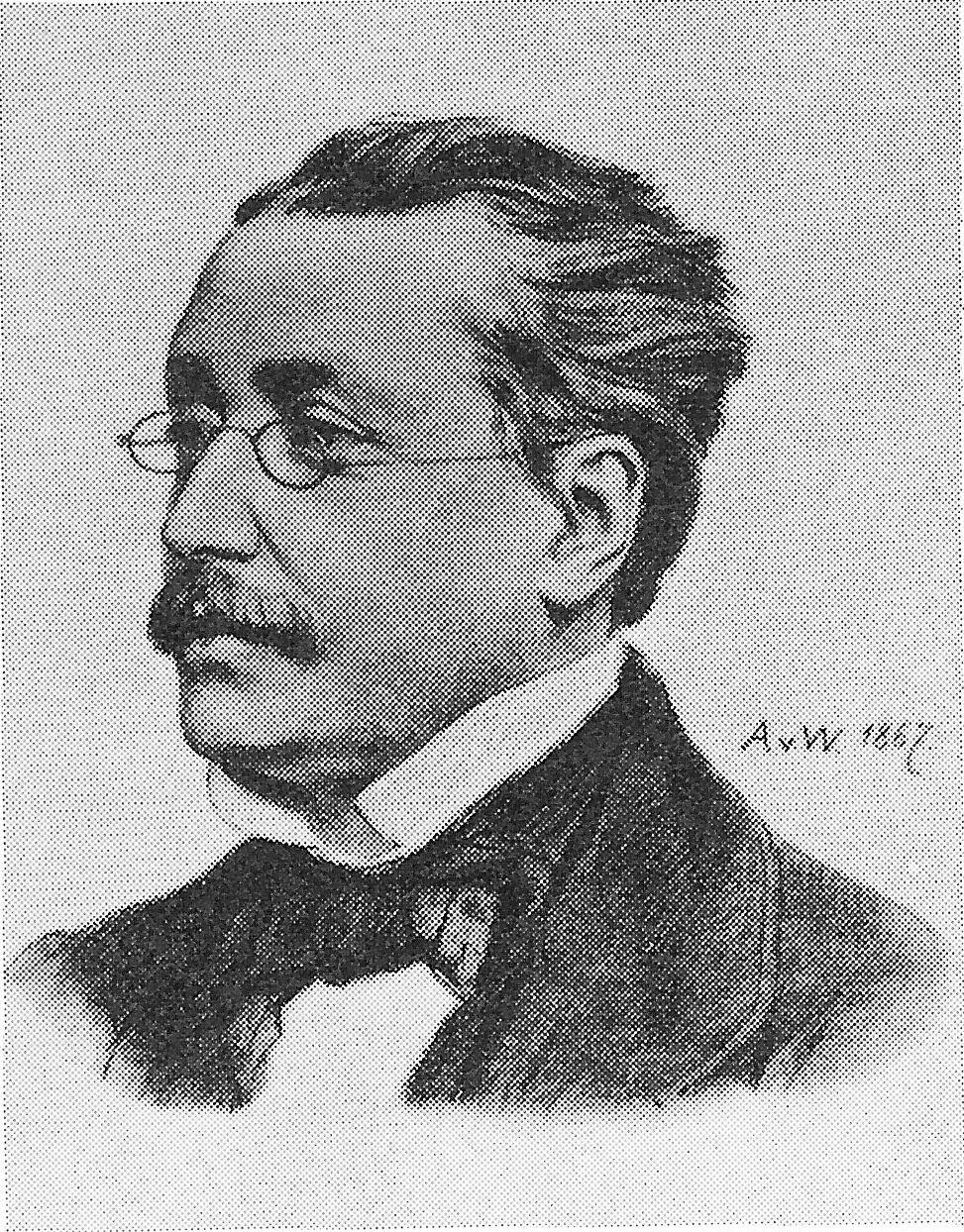 Scheffel, Joseph Viktor von portréja