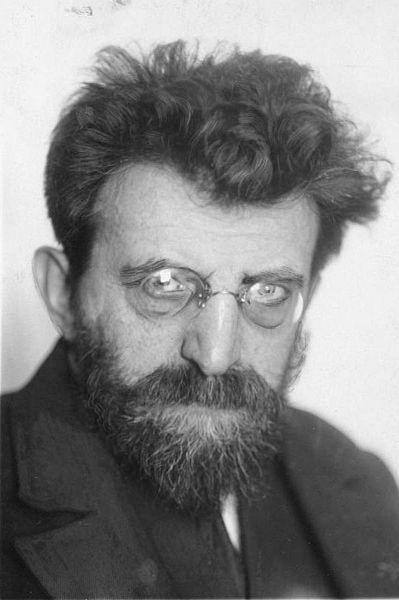 Mühsam, Erich portréja