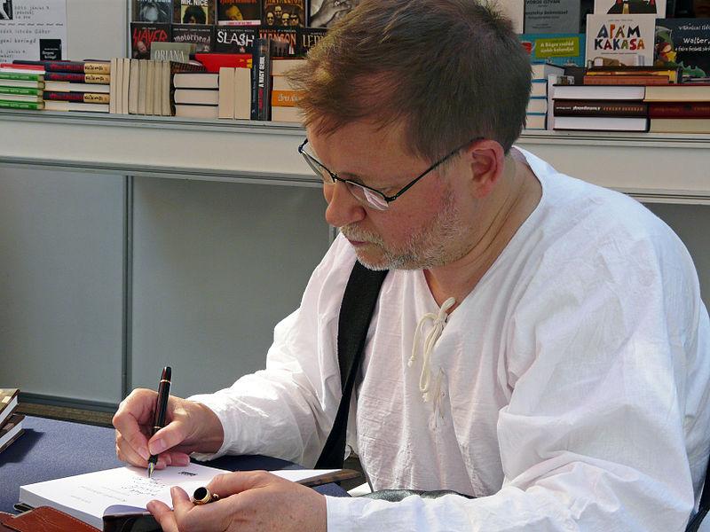 Vörös István portréja