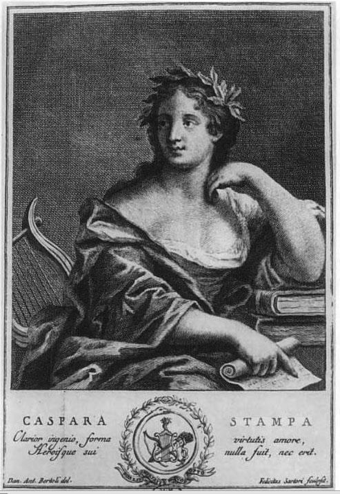 Stampa, Gaspara portréja