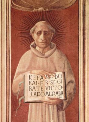 da Todi, Jacopone portréja