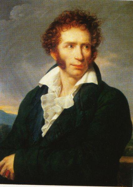 Foscolo, Ugo portréja
