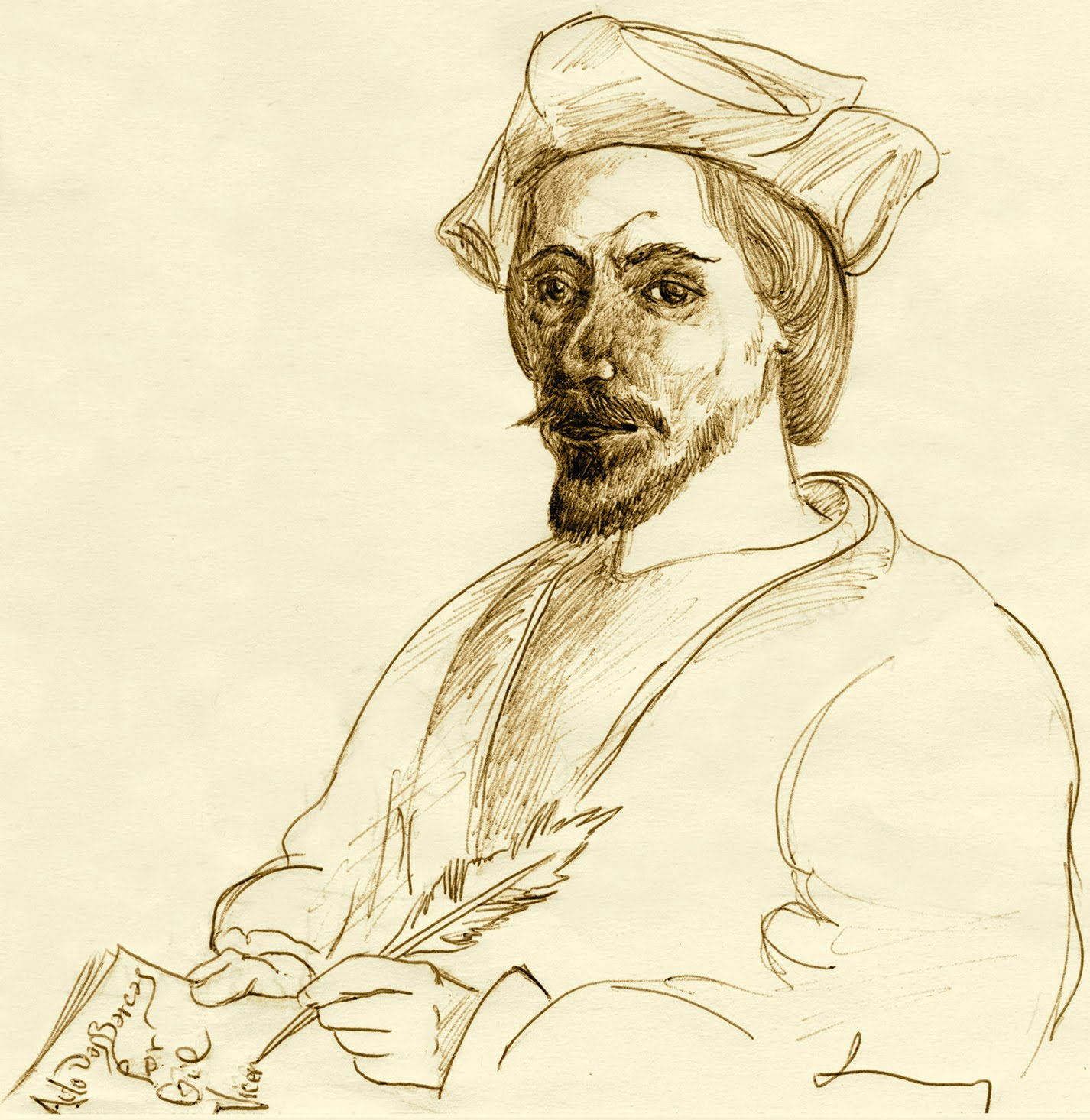 Vicente, Gil portréja
