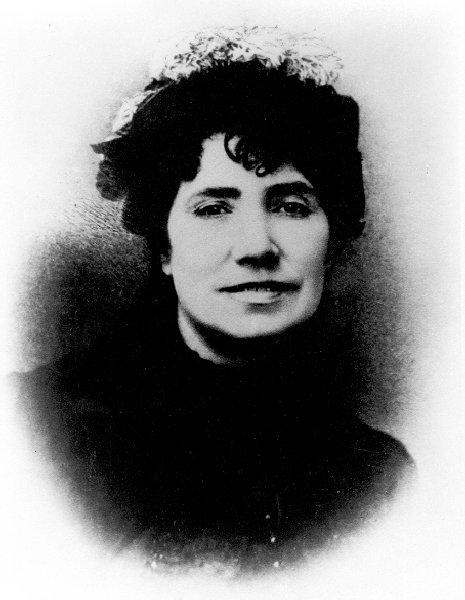 Castro, Rosalía de portréja