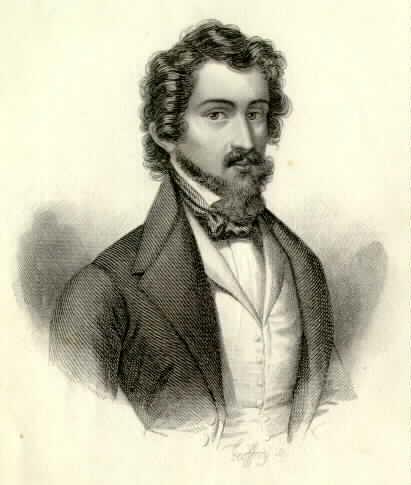 Espronceda, José de portréja