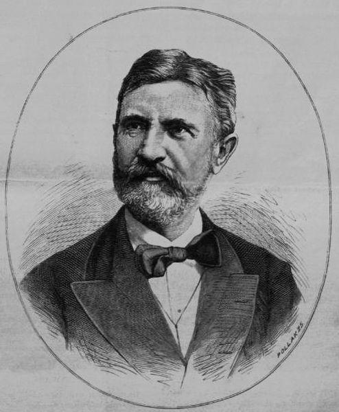 Lévay József portréja