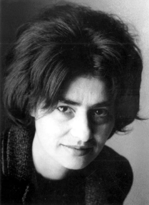 Hervay Gizella portréja