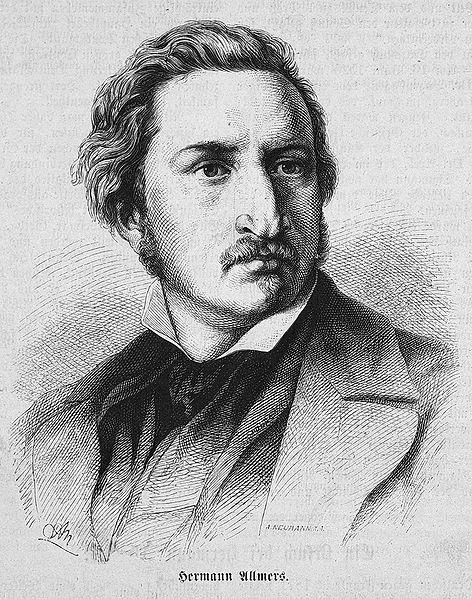 Allmers, Hermann Ludwig portréja