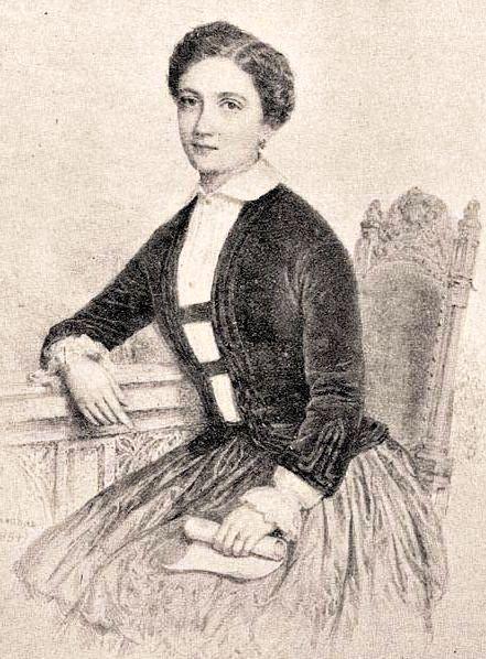 Majthényi Flóra portréja