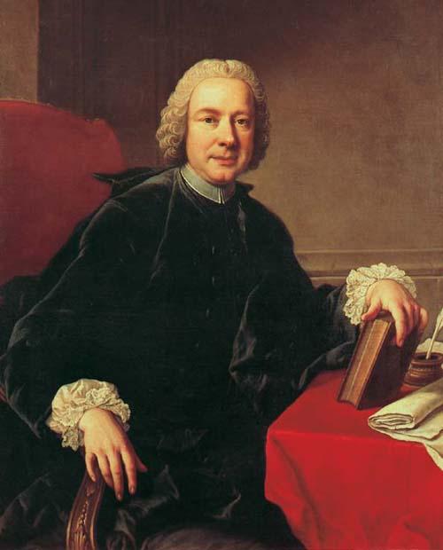 Metastasio, Pietro portréja