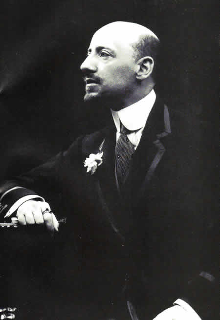 Portre of D'Annunzio, Gabriele