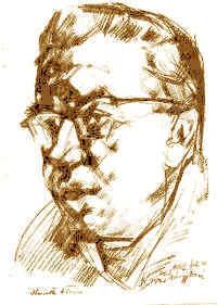 Horváth István portréja