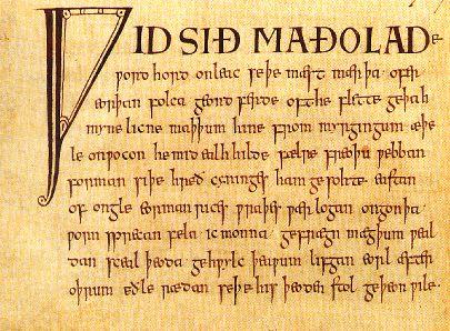 Riddles, Anglo-Saxon portréja