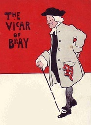 The Vicar of Bray portréja