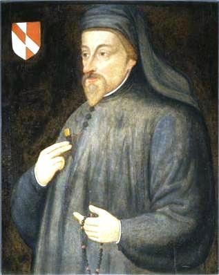 Chaucer, Geoffrey portréja