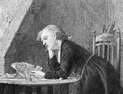 Chatterton, Thomas portréja