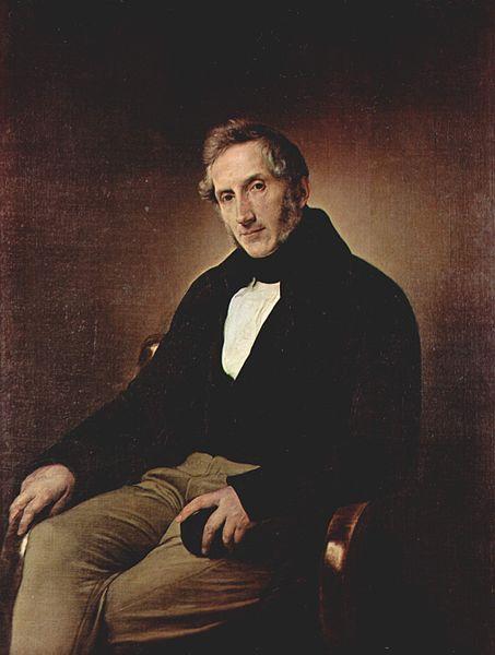 Manzoni, Alessandro portréja