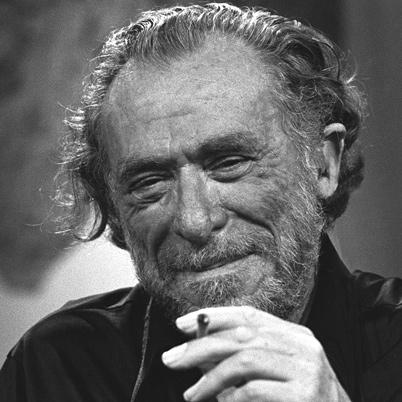 Bukowski, Charles portréja
