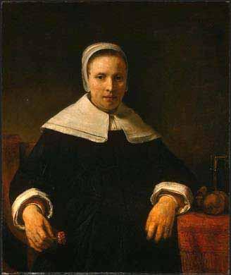 Portre of Bradstreet, Anne