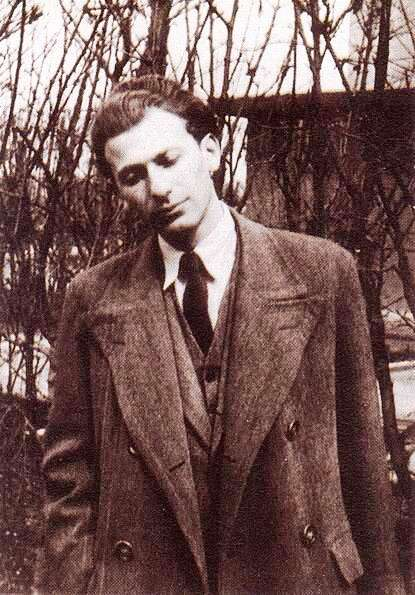 Radnóti Miklós portréja