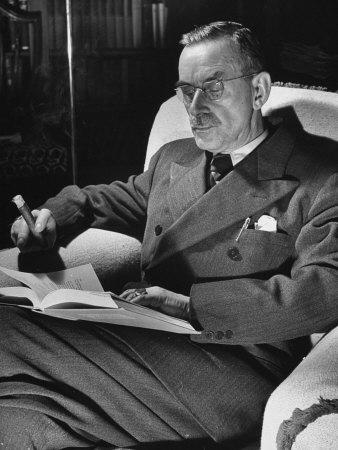 Mann, Thomas portréja
