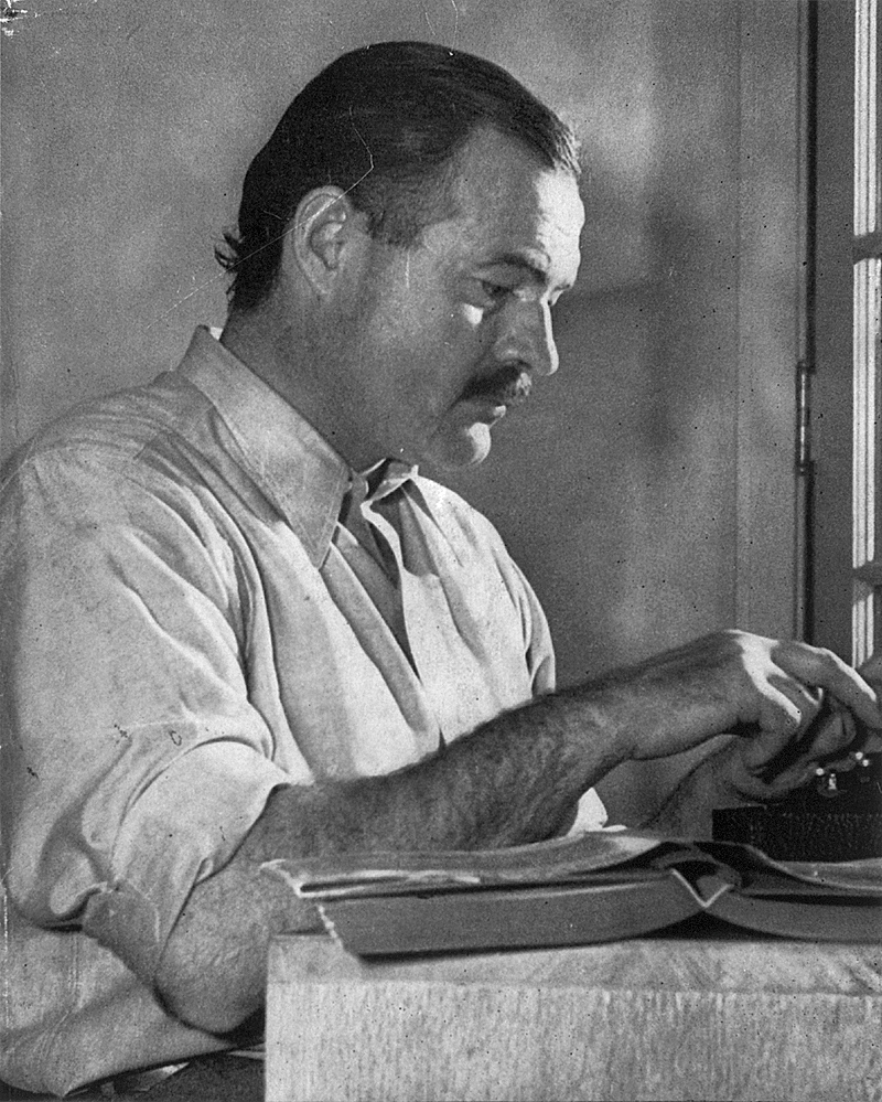Hemingway, Ernest portréja