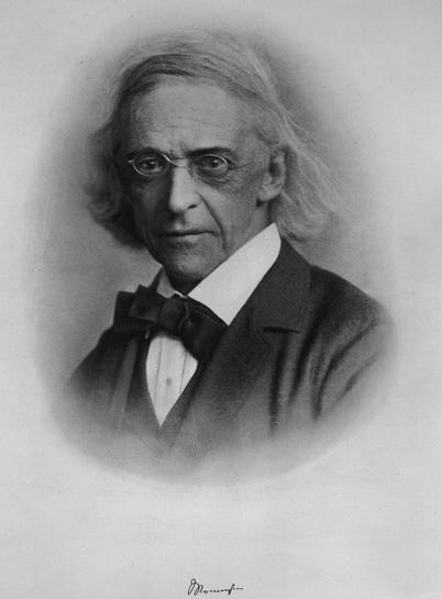 Mommsen, Christian Matthias Theodor portréja
