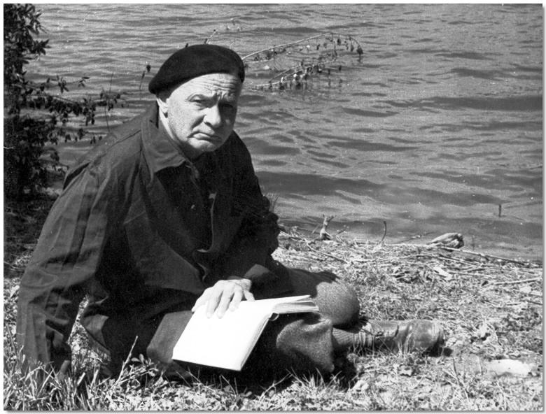 Hamvas Béla portréja