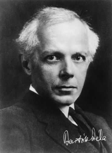 Bartók Béla portréja