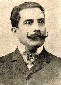 Chocano, José Santos portréja