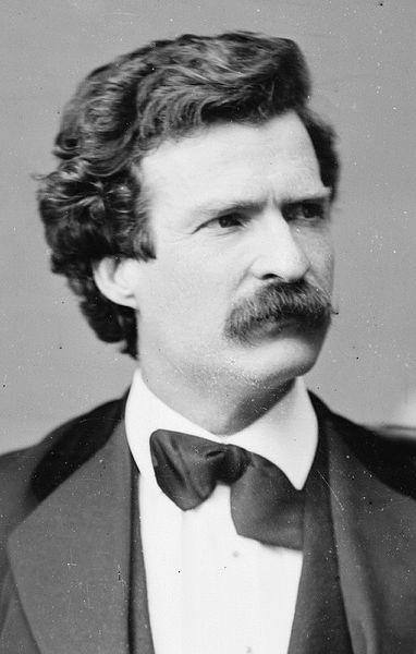 Twain, Mark portréja